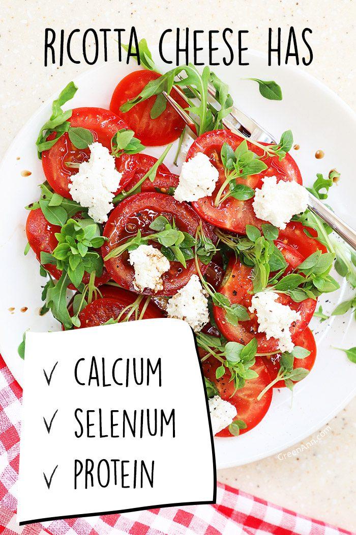 ricotta tomato salad